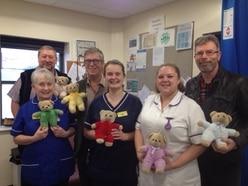 Children's teddies donated to Shropshire hospital
