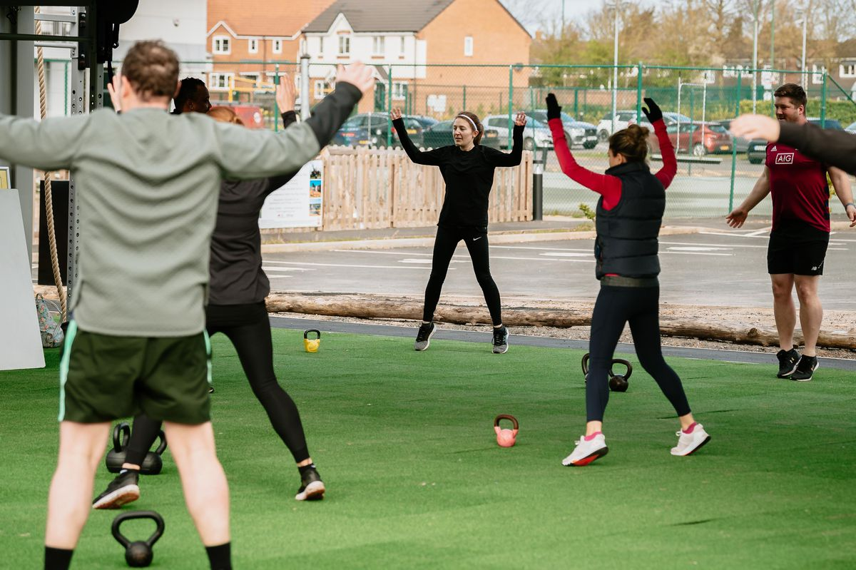 Outdoor bootcamps at The Shrewsbury Club