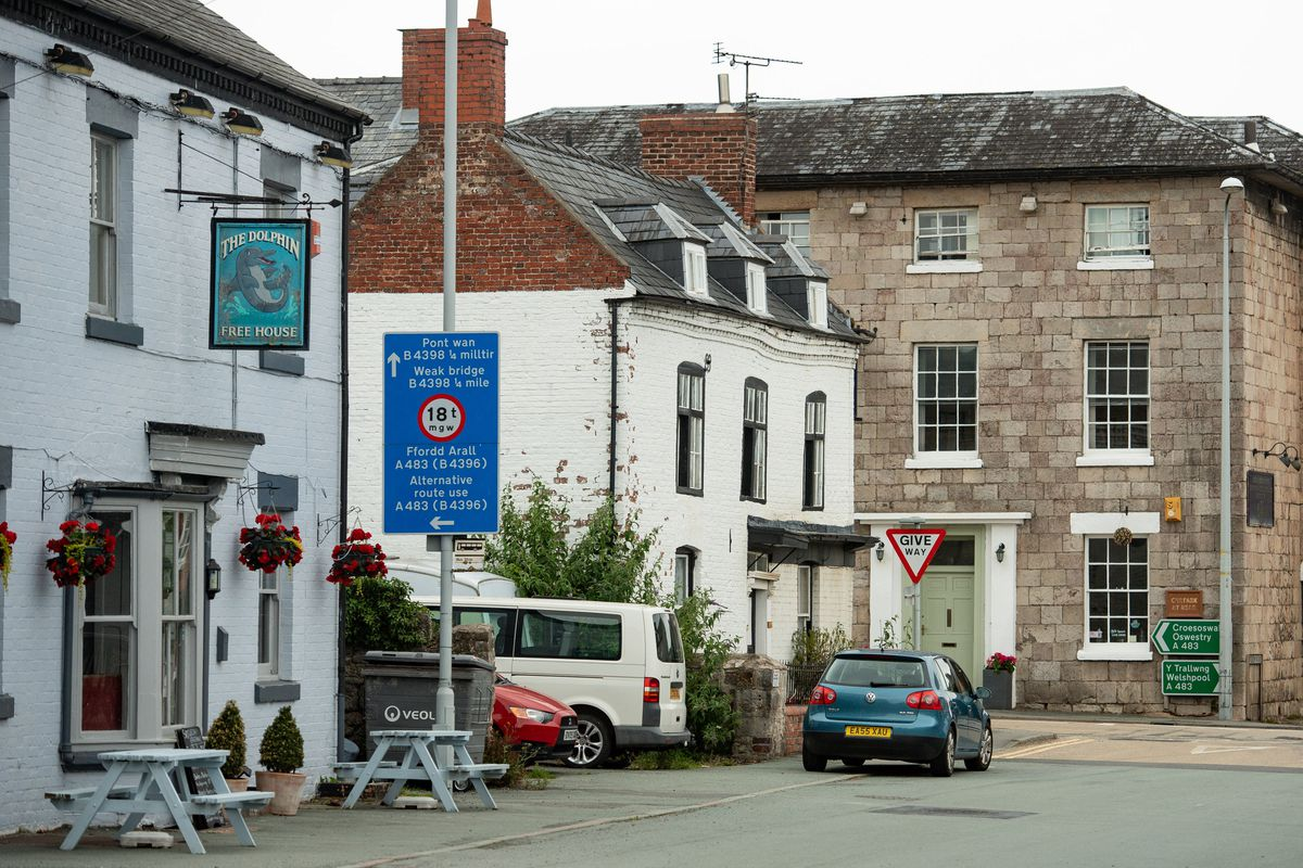 The Dolphin, left, must stay shut while the Cross Keys, far right, is allowed to open