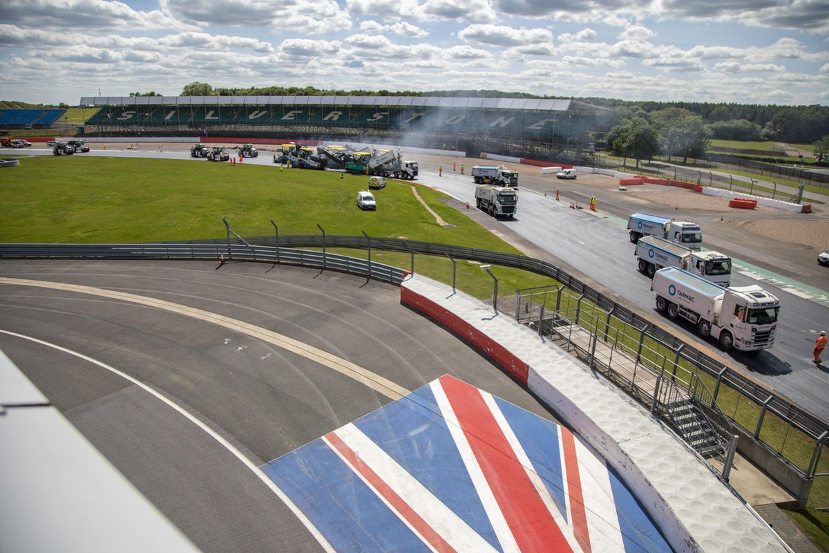 Silverstone resurfacing