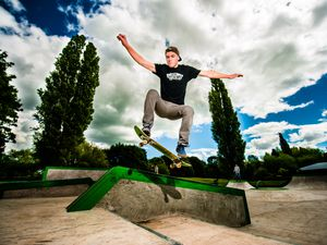 New skate park opens in Market Drayton - in pictures