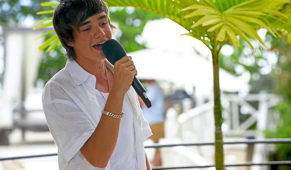 Liam Payne during his time on the X Factor