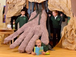 Fandiddlytastic! Telford school builds its own Roald Dahl museum - watch the video