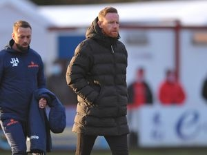 AFC Telford United boss Gavin Cowan