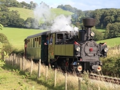 Welshpool and Llanfair railway celebrating a double success