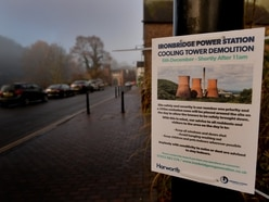Ironbridge Power Station cooling towers coming down today - LIVE coverage here