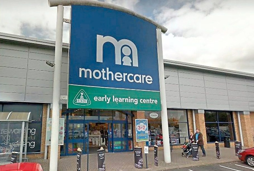 Mothercare announce sale as Falkirk branch prepares to close