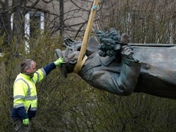 Soviet commander's statue in Prague removed despite Russian protests