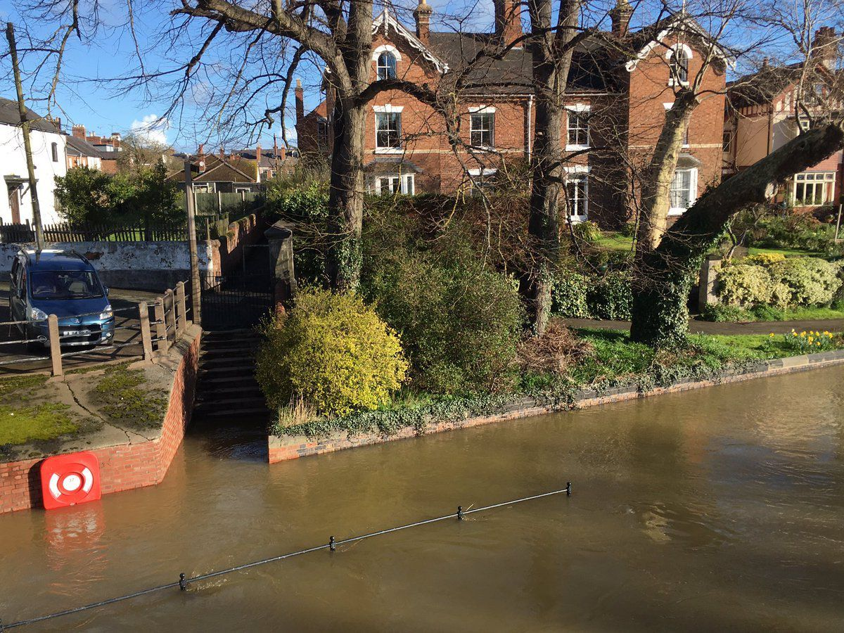 Shrewsbury. Photo: The Environment Agency