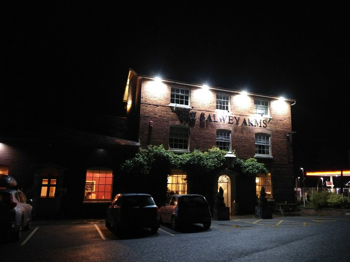 The Salwey Arms is a vast building that provides space for large weddings, hotel guests, small business meetings and passing travellers
