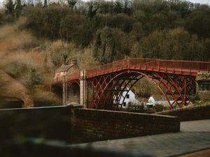The Iron Bridge in Ironbridge, Telford