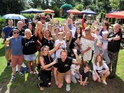 Pub fun day helps boost funds for Christel's tumour appeal
