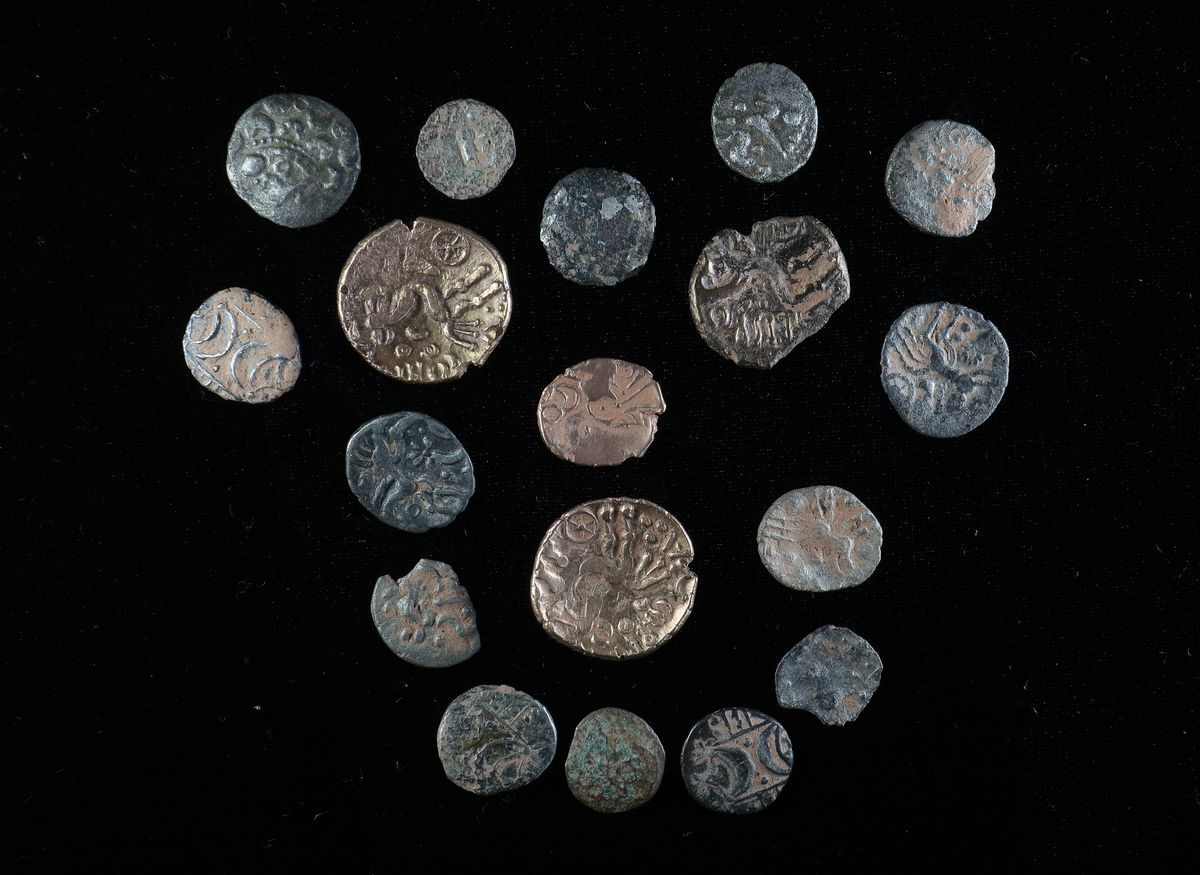 The Iron Age coins