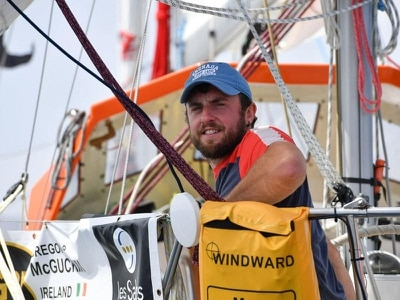 Irish sailor evacuated from Indian Ocean after being dismasted in storm