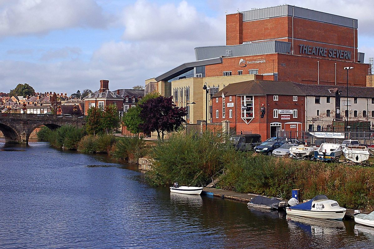 Much of the course is delivered at Shrewsbury's Theatre Severn