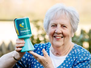 June Beharrell from Shrewsbury has been raising money for the Severn Hospice for years but has been force to take her efforts online due to the pandemic.