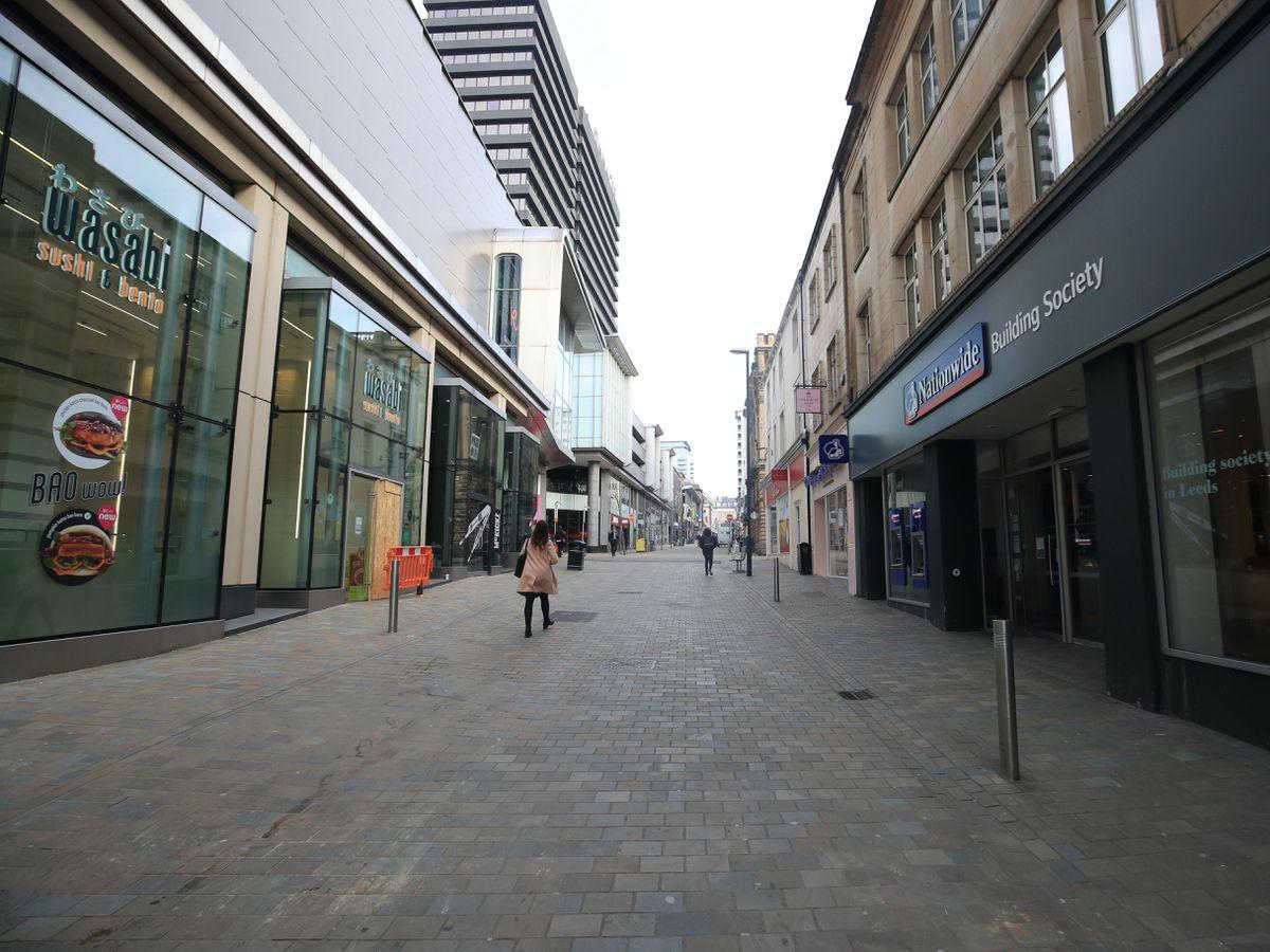 Albion Street in Leeds city centre