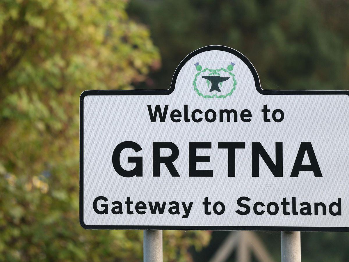 Sign for Gretna