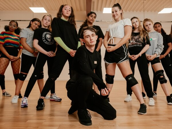 Meet Blackout: The dance outfit which won Telford's Got Talent - in pictures