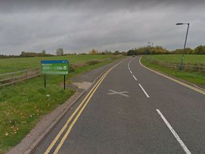 The site lies between Meole Brace Retail Park and the park and ride.