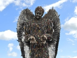 Shropshire's Knife Angel fourth plinth petition gathers pace