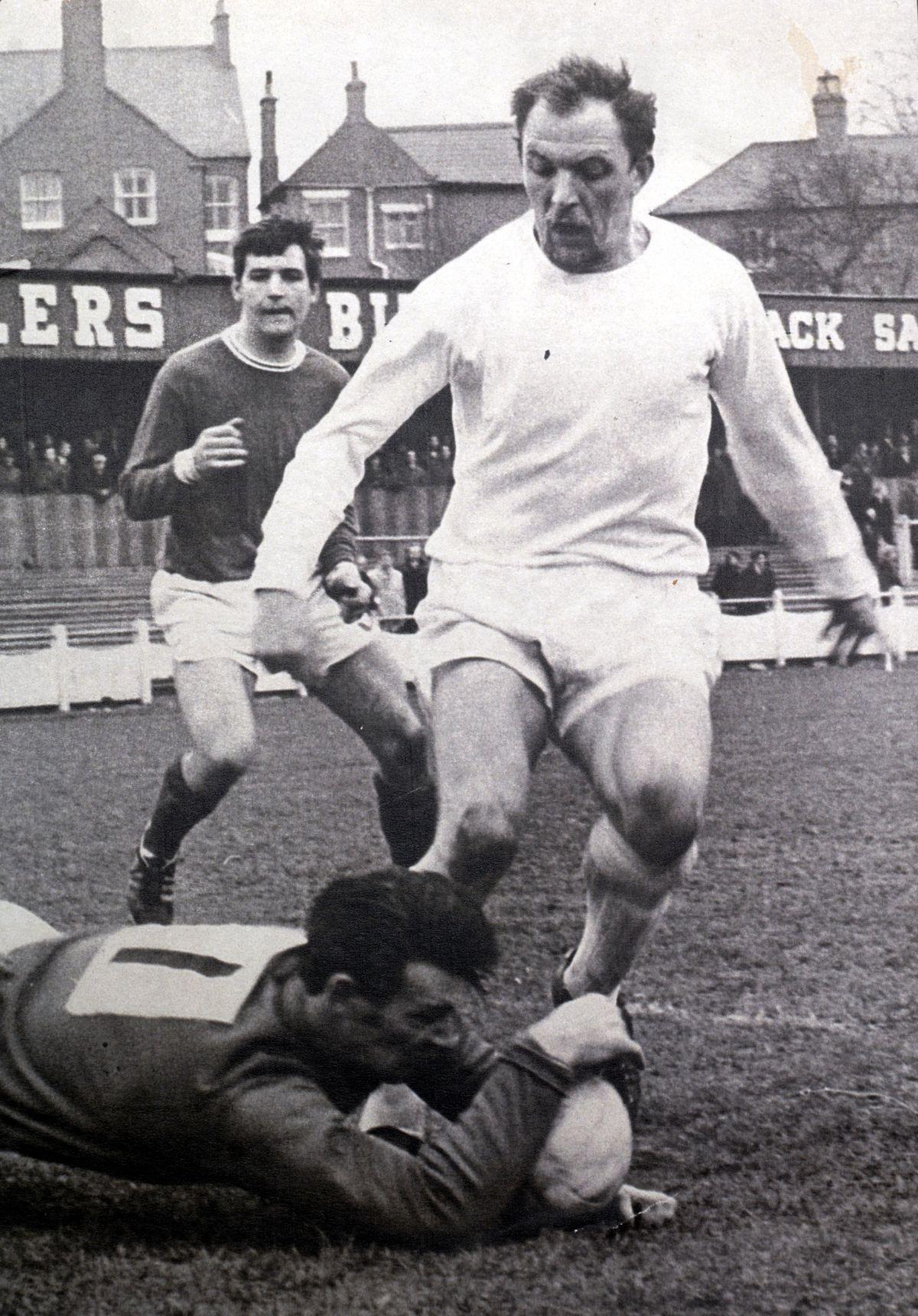 Telford United player Jack Bentley