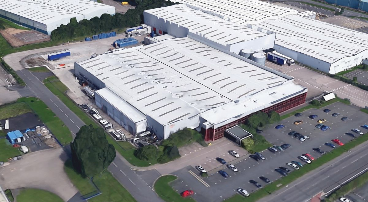 Magna Foods in Stafford Park, Telford, which has been hit by a coronavirus outbreak. Photo: Google