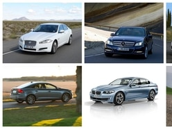 The best used executive cars for under £10,000