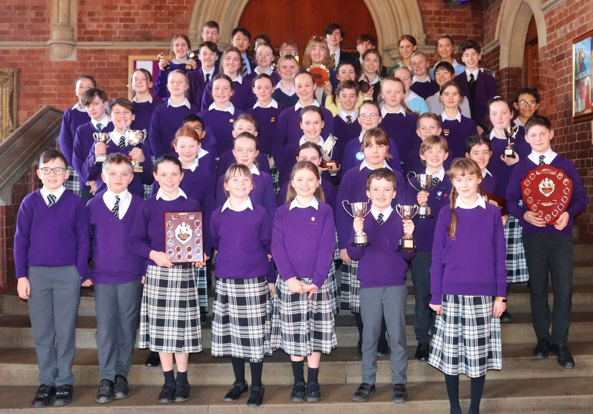 Ellesmere College at last year's Youth Music Festival