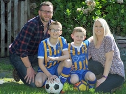 Shropshire youngster kicks cancer to the kerb