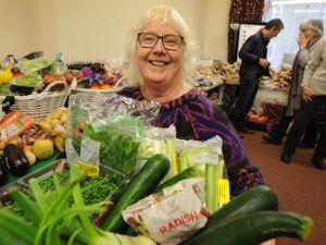 Manager of Bridgnorth Food Bank, Liz Bird