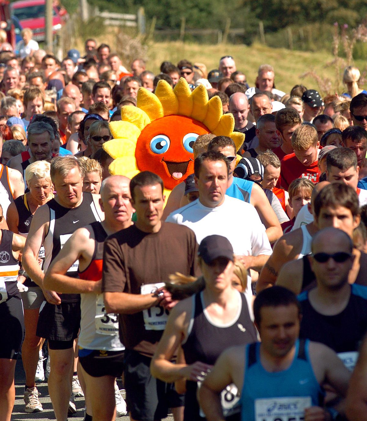 The event has previously attracted around 1,500 runners
