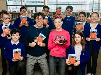 Authors visit Telford school to spread the joy of reading