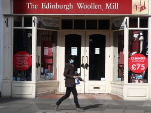 An Edinburgh Woollen Mill shop