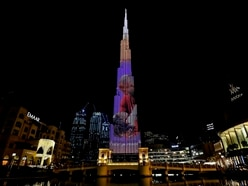 Tribute to Kobe Bryant and daughter Gigi lights up world's tallest building