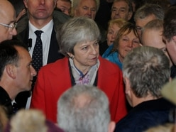 Theresa May rebuffs sceptical Shropshire MPs during visit to Royal Welsh Winter Fair
