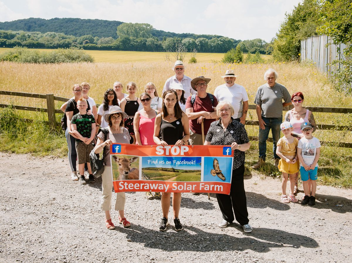 Stop Steeraway Solar Farm group which will see farms in Limekiln Lane turned into Solar Farms. Organised by Jocelyn Lewis