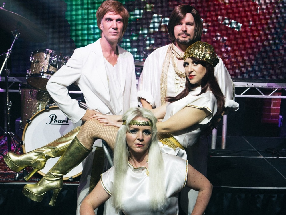 ABBA tribute act to play outside gig in Whitchurch