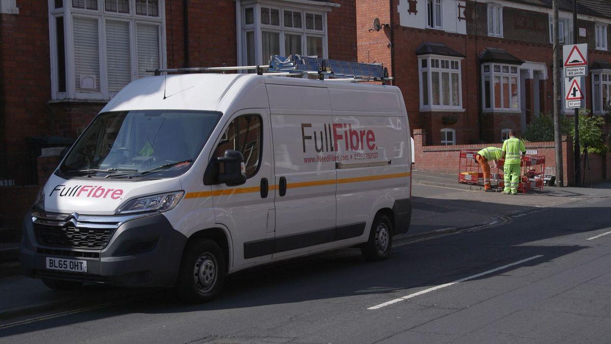 A Full Fibre van