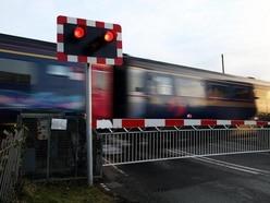 Faulty level crossing barriers block traffic