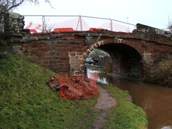 Repairs to listed Shropshire bridge could cost charity £30,000 after damage by driver