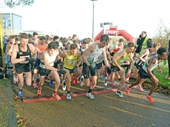 Record smashed as runners brave the cold at Telford 10k - with pictures