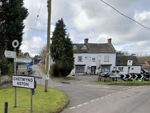 The Norwood House Hotel, at Chetwynd Aston. Photo: Google.