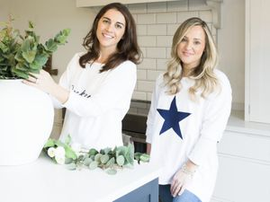Hannah Walters and Kate Home-Roberts, founders of Charlested Interiors