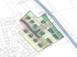 The proposed layout of the Ellesmere Wharf development.