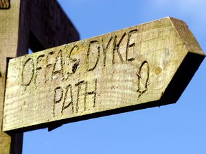 There are 31 guided walks and two self led walks some of which take in the Offa's Dyke path.
