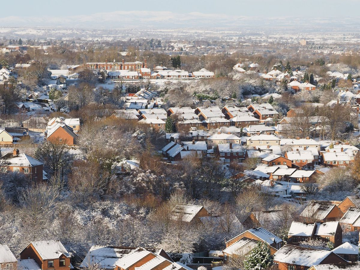 Oakengates from Snedshill. Photo: Jan Bell.