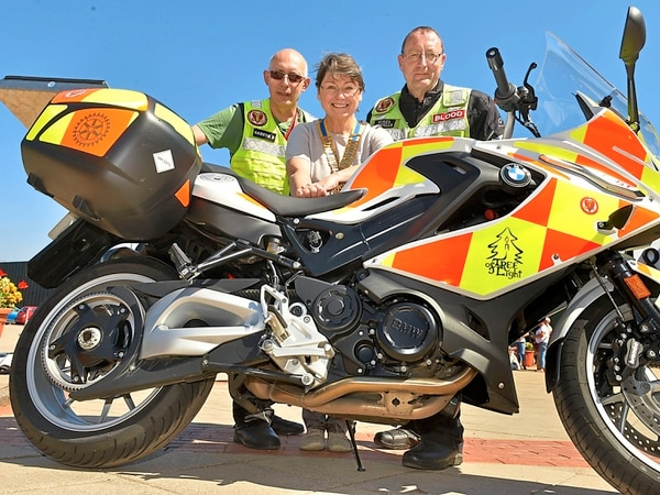 Telford's Rotary clubs unite to buy new blood bike