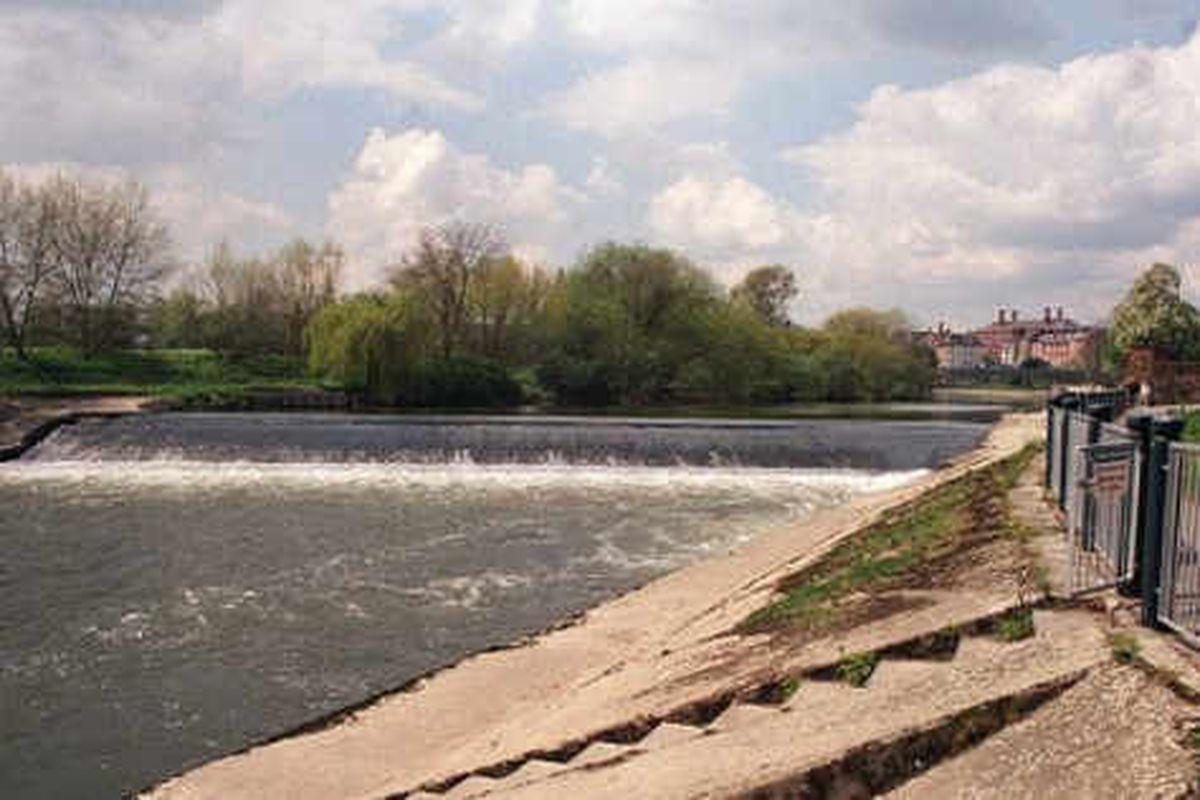 New £100,000 power plan for Shrewsbury Castlefields weir