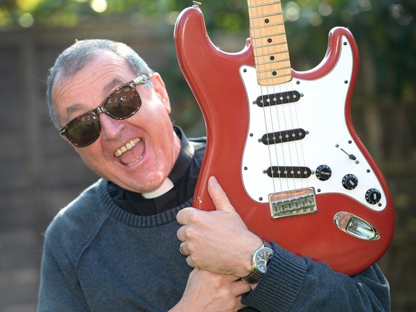Telford's rocking rector tunes up for fundraising show